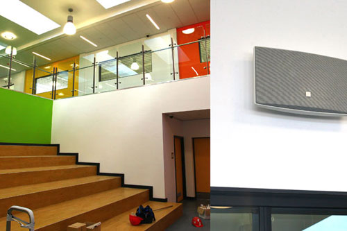 New school sound systems